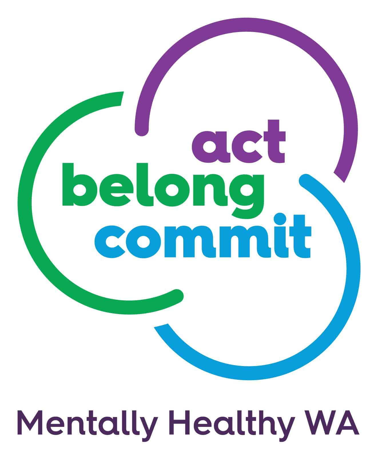 ACT BELONG COMMIT MHWA logo